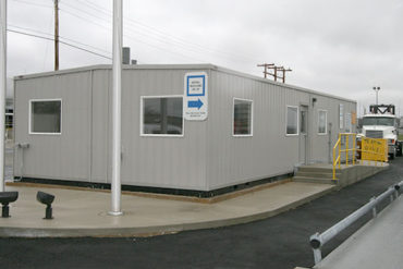 example of a prefabricated scale house