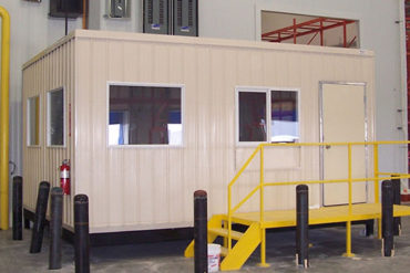 modular in-plant office and warehouse building