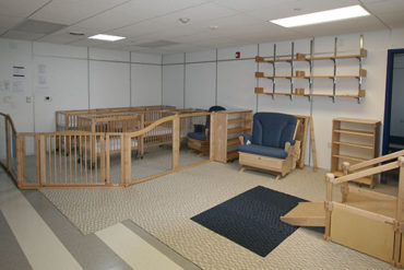 classroom and daycare facility