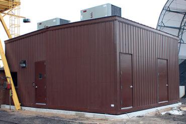 modular pump house