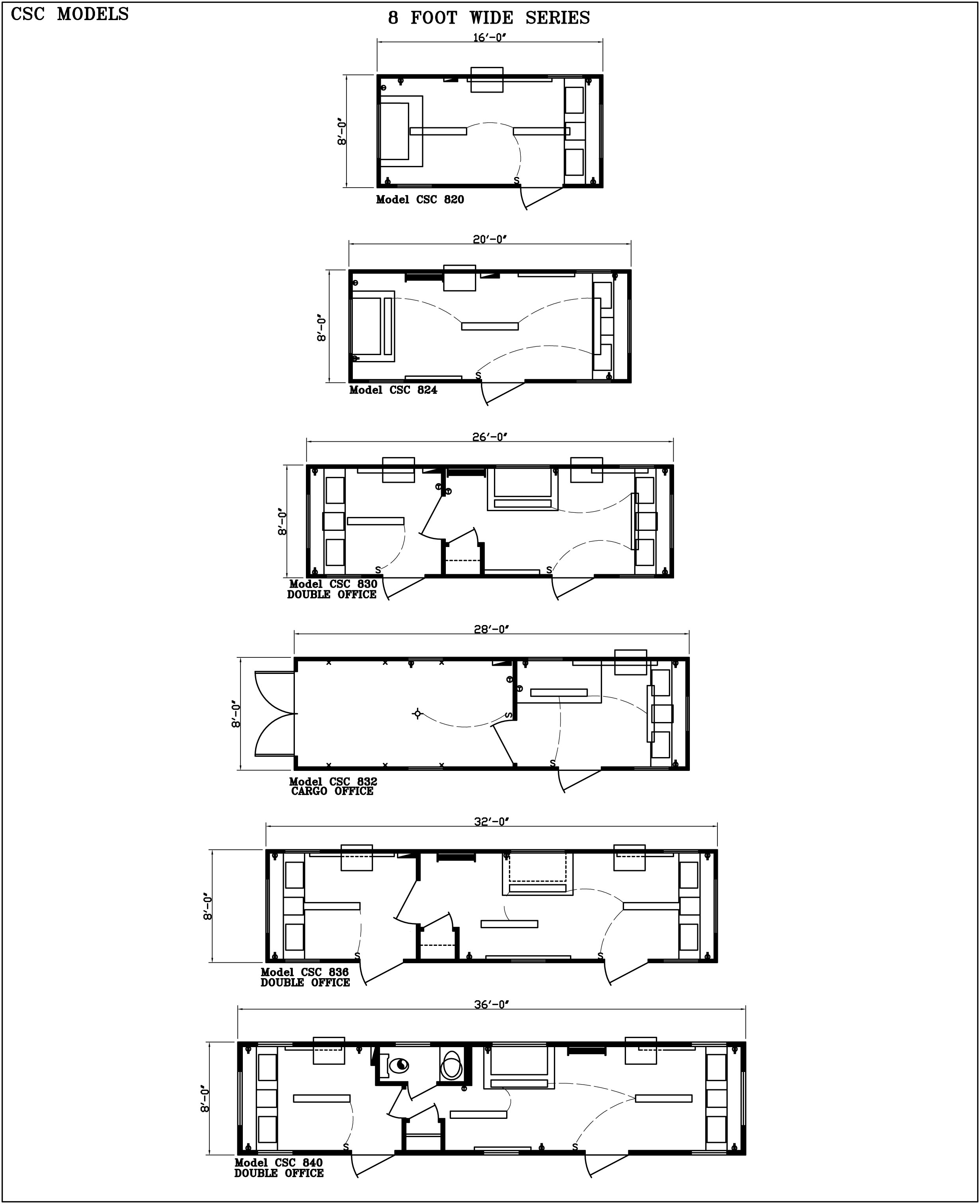 Modular Building Floor Plans - Commercial Structures Corp