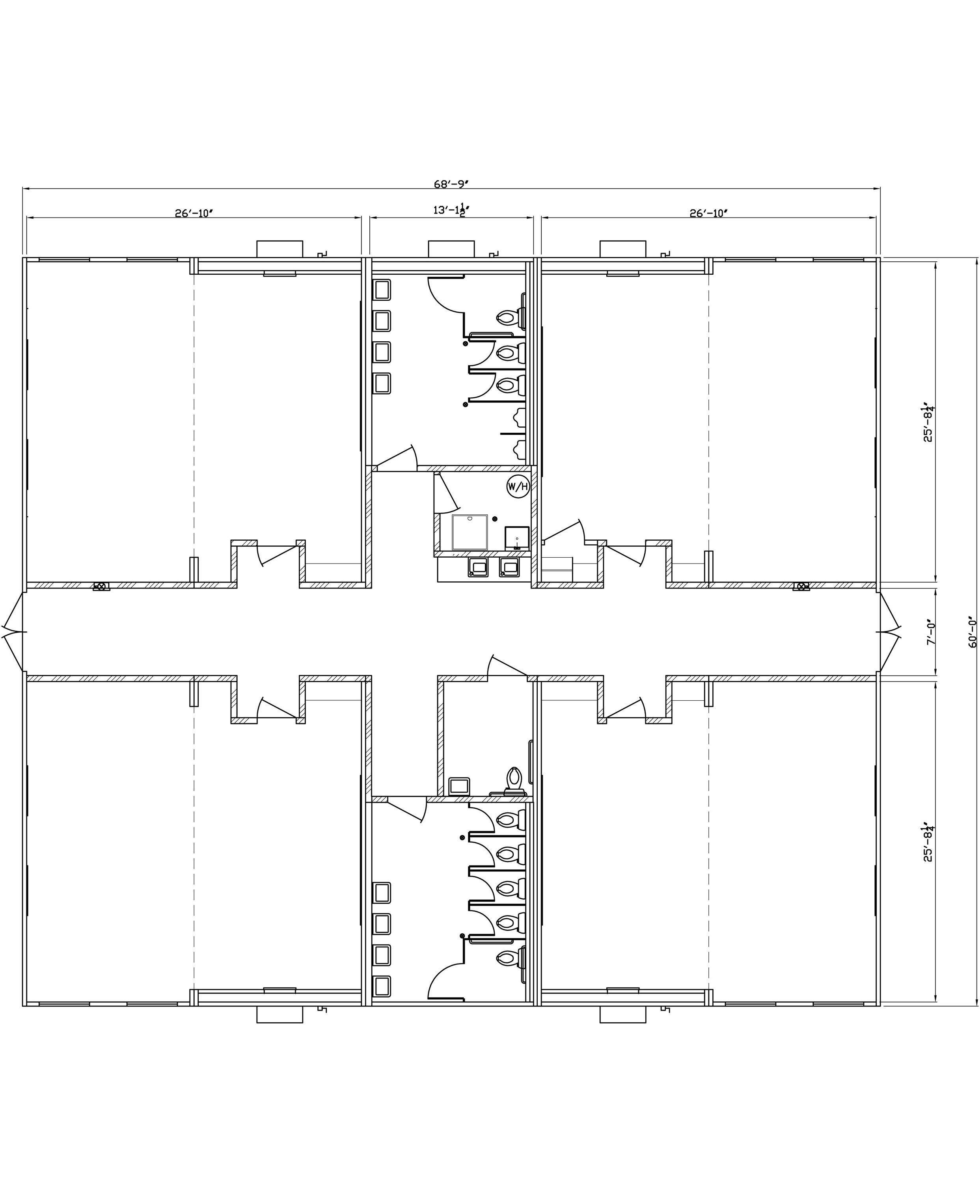 modular classroom floor plan