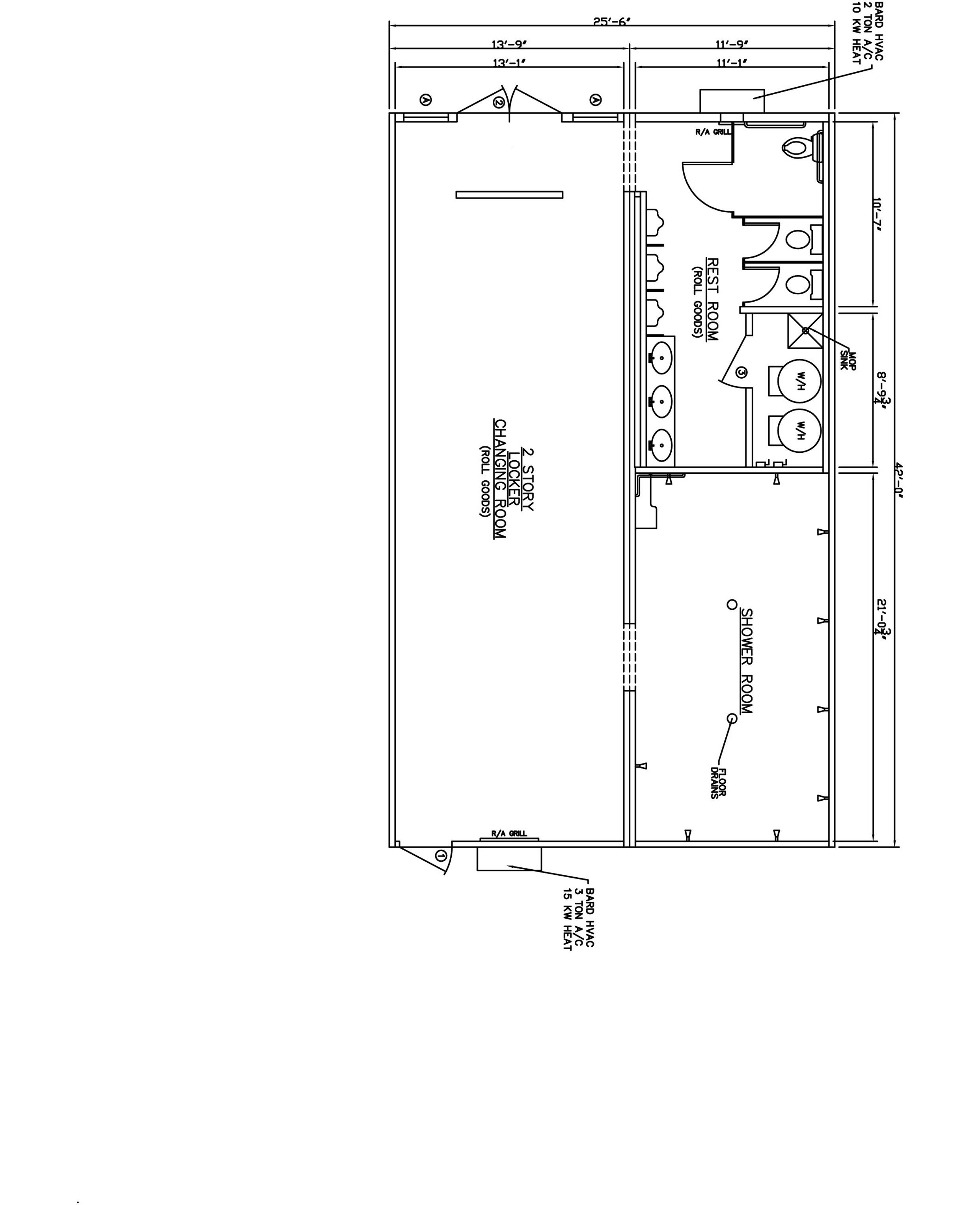 two story building floor plans