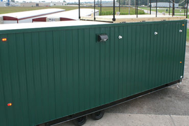 portable guard house and security booth