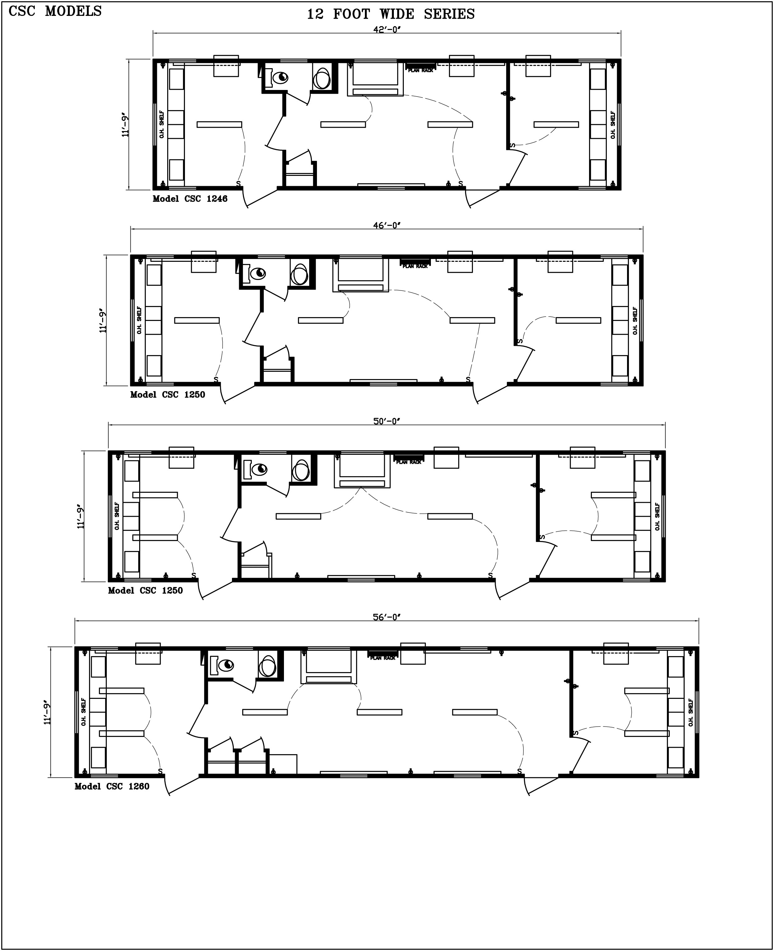 12 foot wide modular office floor plans
