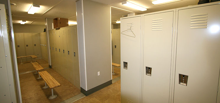 Portable Locker Rooms Shower Trailers Commercial Structures Corp
