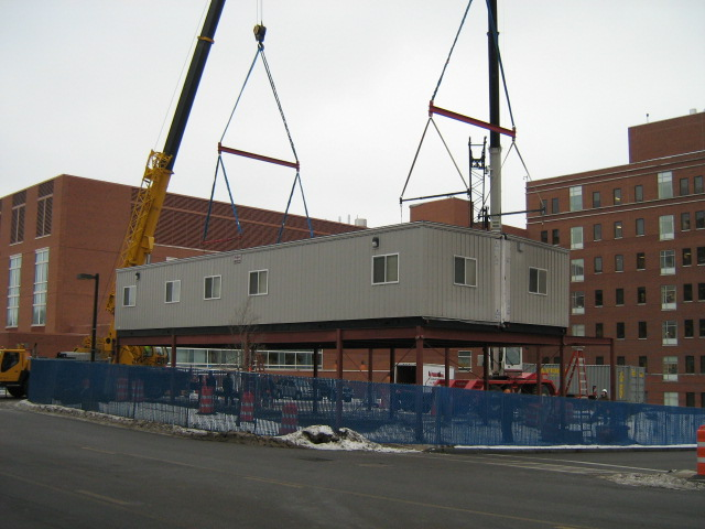 Multi-Story, Stackable Modular Buildings - Commercial