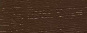 aluminum siding color option: autumn brown embossed