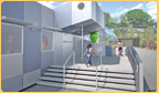 rendering of a porfolio project - building exterior