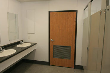 example of a modular restroom