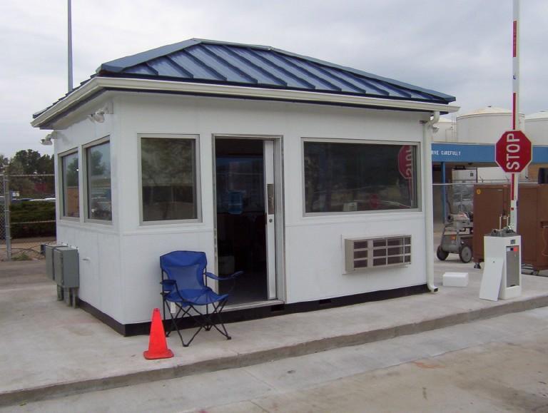 modular toll booths