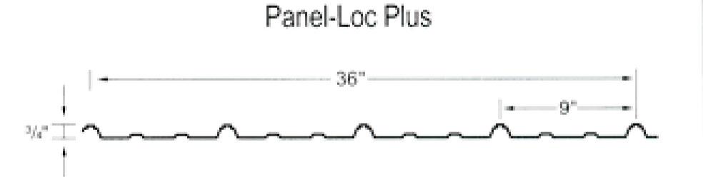 steel color option: panel-loc plus diagram