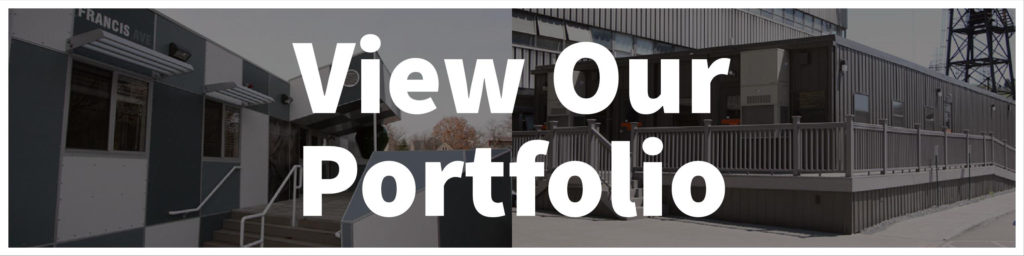 Modular building portfolio