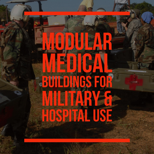 Medical buildings for the military